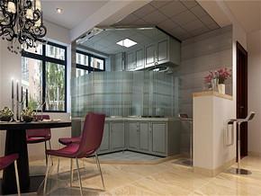 現代簡約風格時尚廚房裝修