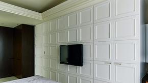 现代风格卧室定制衣柜装修效果图