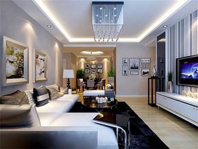 后現代客廳風格裝修效果圖