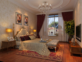 北歐風格臥室裝修效果圖