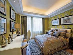 现代古典风格女孩房间装饰图