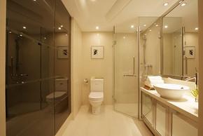 浴室隔断装修效果图