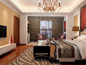 歐式復古臥室裝修效果圖