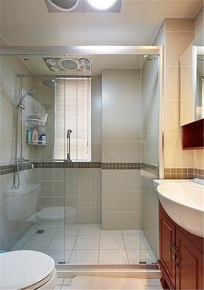 15㎡现代风格卫生间装修效果图