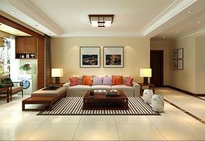 中式现代家装效果图