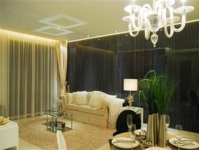 简欧风格最漂亮的客厅背景墙装修效果图