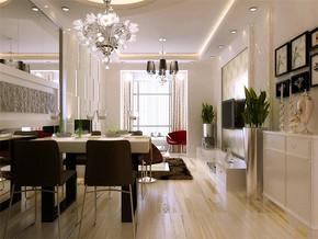 现代风格客厅居家装修效果图
