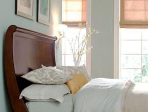 現代美式風格清新小臥室裝修效果圖