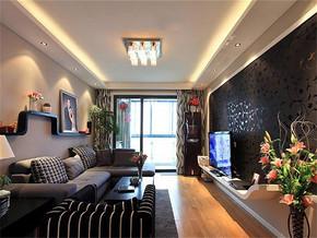 现代风格个性客厅装修效果图