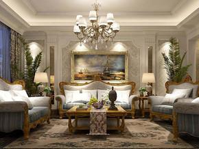 欧式风格客厅家具装修效果图