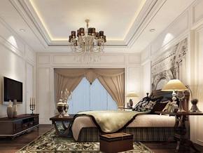 美式风格卧室装修设计效果图