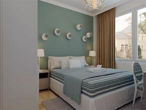 現代15平米臥室裝修圖
