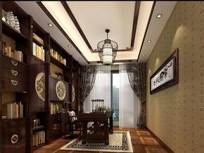 中式古典風格書房裝修效果圖