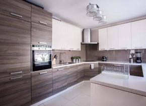 現代簡約廚房裝修效果圖