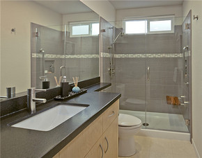 酒店卫生间干湿分离现代风格装修效果图