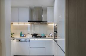 简约时尚小户型厨房橱柜装修效果图