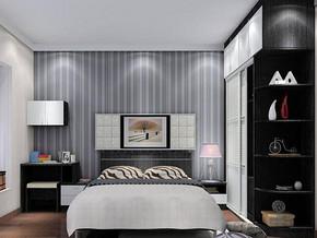 简约风格卧室衣柜装修设计效果图