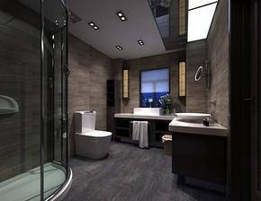 整体卫浴装修效果图