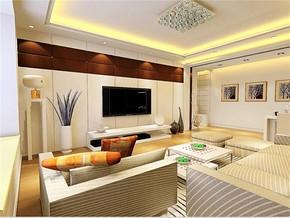 現代客廳家庭裝修設計圖