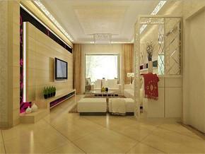 现代风格小户型客厅效果图