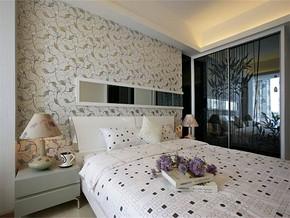 現代風格臥室裝修圖片