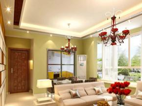 简约风格小客厅装修效果图