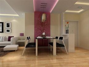 现代风格家庭餐厅装修效果图