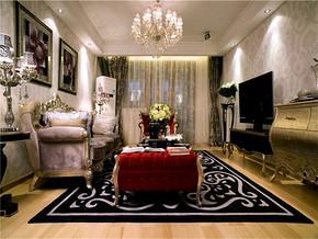 新古典客廳裝修圖