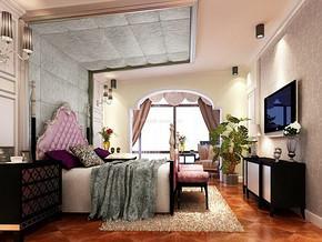 卧室婚房家装效果图