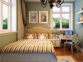 簡約歐式風格臥室裝修效果圖