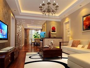 现代简约超小客厅装修效果图