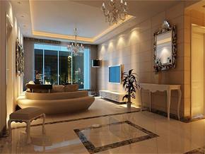 简欧风格最时尚的客厅吊顶装修效果图