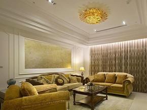 欧式风格客厅装修设计效果图