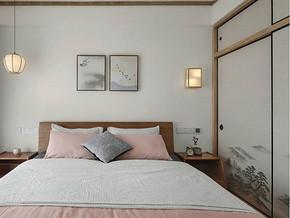 日式原木臥室裝修效果圖