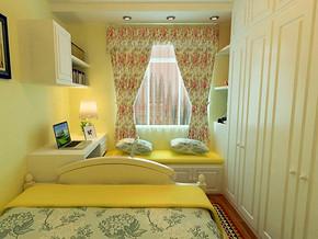 地中海风格卧室衣柜装修效果图