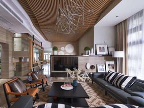 后現代風格客廳裝修設計效果圖