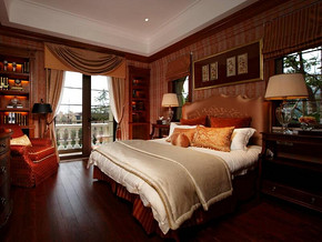 欧式风格卧室装修设计效果图