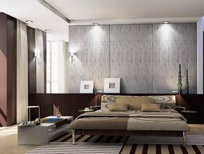 韩式风格卧室背景墙装修效果图