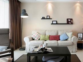 簡美風格三居室裝修