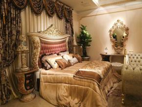 简约欧式卧室效果图