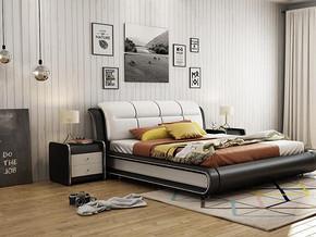 北欧简约风格卧室装修效果图