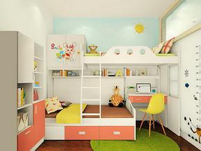 家庭兒童房裝修效果圖