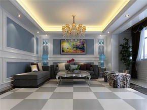 混搭風格客廳最新流行家居裝修圖片