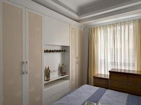 歐式風格臥室衣柜裝修效果圖