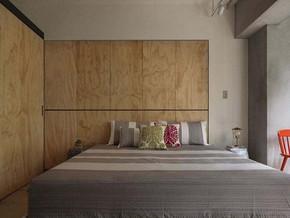 现代风格卧室衣柜装修效果图
