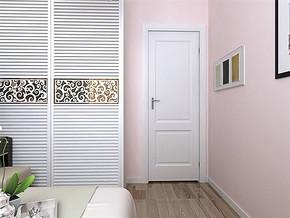 現代可愛女生房間裝修效果圖
