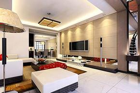現代簡約室內裝修效果圖