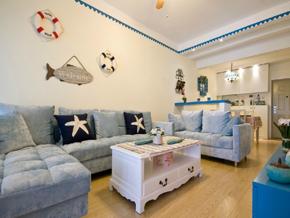 一室現代風格客廳裝修效果圖