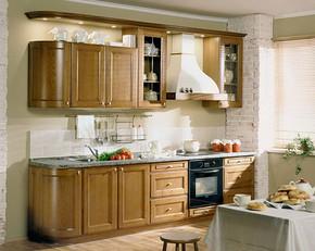 厨房装修样板房效果图
