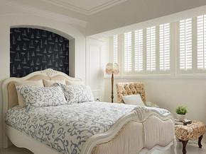 美式風格臥室背景墻裝修效果圖